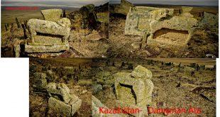 Kazakistan,  Bilge-Danışman Ata antik mezarlığı ve hikayesi.