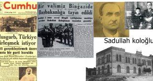 Libya Türkleri tarihinde önemli bir sayfa ve Tarihe sığmayan bilge.. Libya Türk Başbakanı Sadullah KOLOĞLUnun hayatı