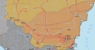 Avrupa ve Hıristiyan tarihinde önemli bir sayfa, 1. Bulgar imparatorluğu ve Bizans imparatorluğu Edirne-Versinikia Savaşı 813