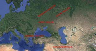 İki Türk devleti Kırım Hanlığı – Kazan Hanlığı kardeş savaşları sonucu Büyük Rusya'nın oluşması 1441-1783