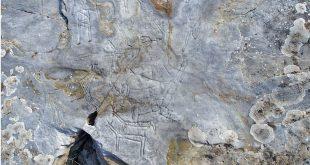Yunanistan Kavala şehrinde Trakyen-Türk kaya resimleri